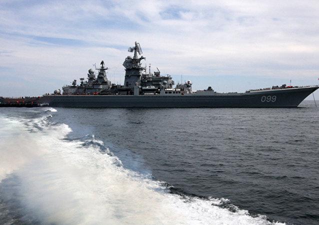 El crucero nuclear Piotr Veliki