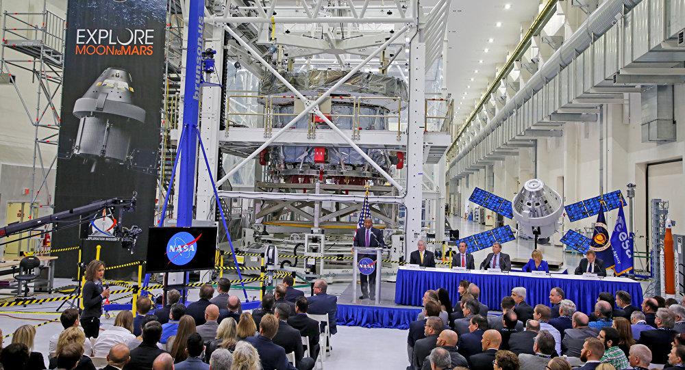 Módulo europeo para nave Orion en el Centro Espacial Kennedy
