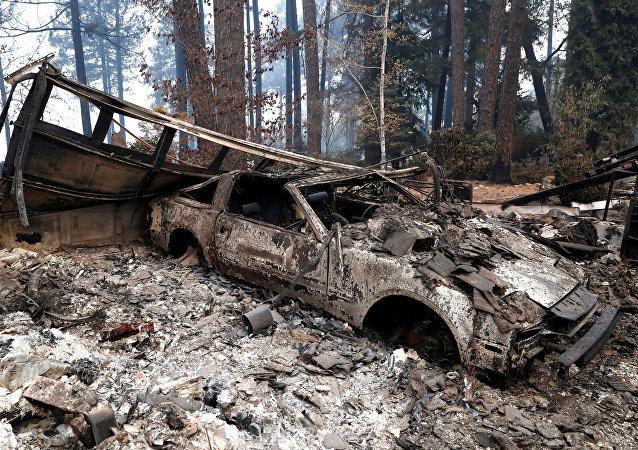 Consecuencias de los incendios en California
