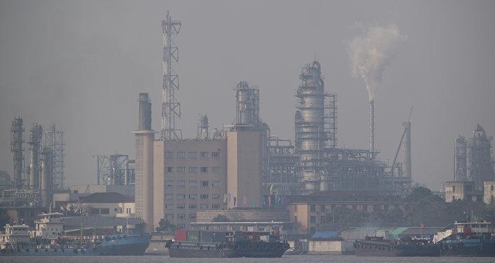 Una refinería de petróleo en China (archivo)