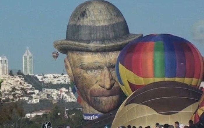Van Gogh surca el cielo mexicano en el asombroso Festival del Globo