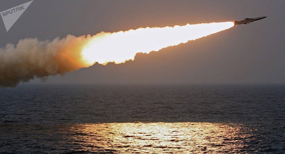 Un misil supersónico ruso