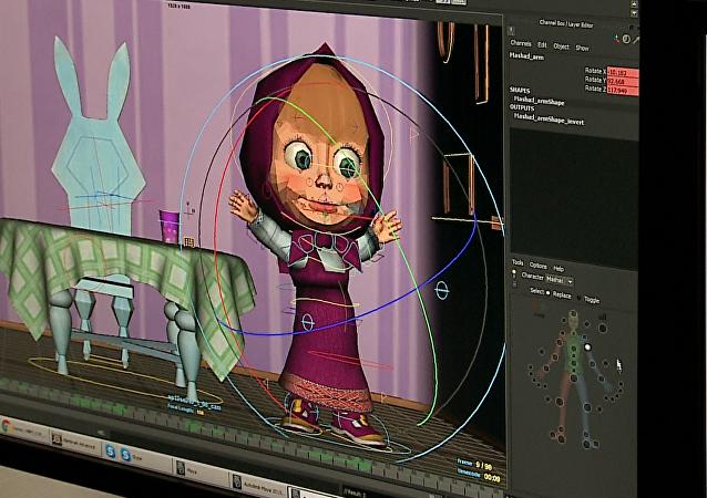 El proceso de animación de Masha y el Oso