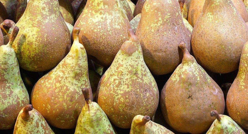 Peras (imagen referencial)