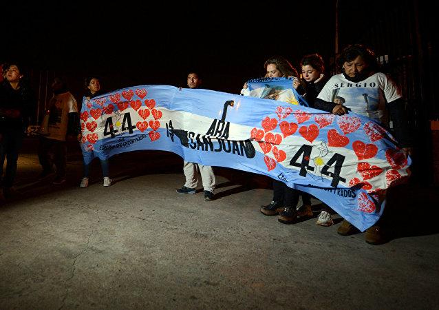 Los familiares de los tripulantes del ARA San Juan