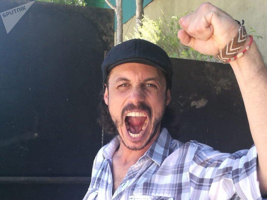 Nacho Levy de La Garganta Poderosa