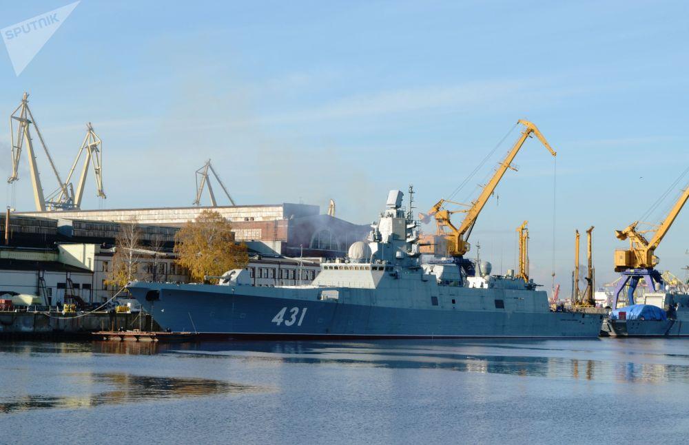 Todos los detalles de la nueva fragata Almirante Kasatonov