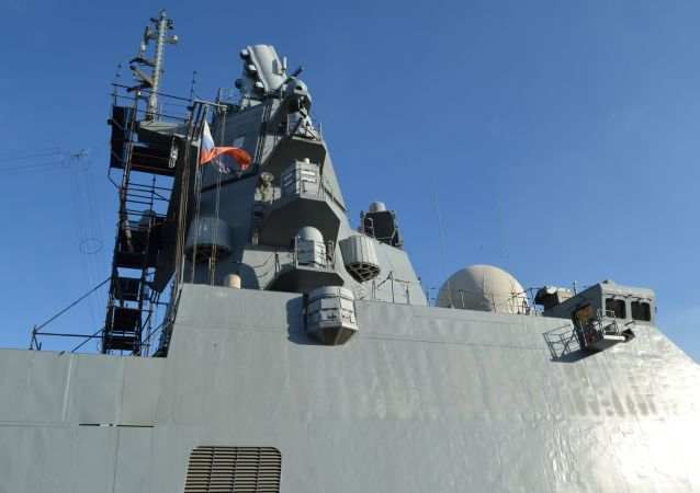 La fragata del proyecto 22350 Almirante Kasatonov