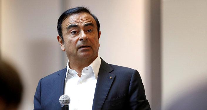 Carlos Ghosn, jefe del consorcio automovilístico Nissan