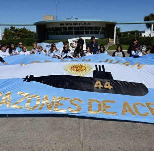 Parientes de los tripulantes del submarino ARA San Juan