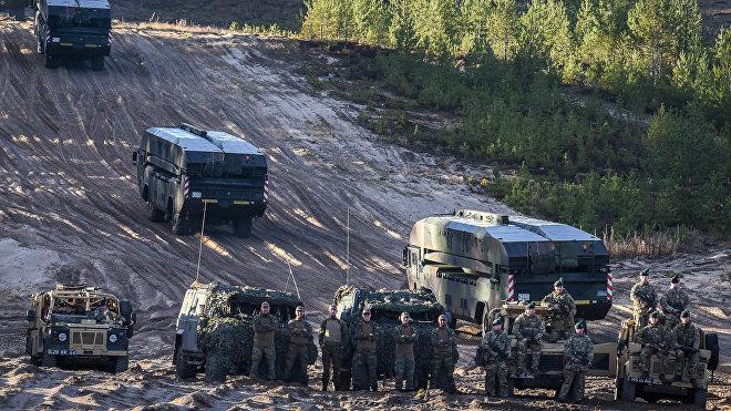 Las maniobras de la OTAN Trident Juncture 2018, Noruega, 25 de octubre de 2018