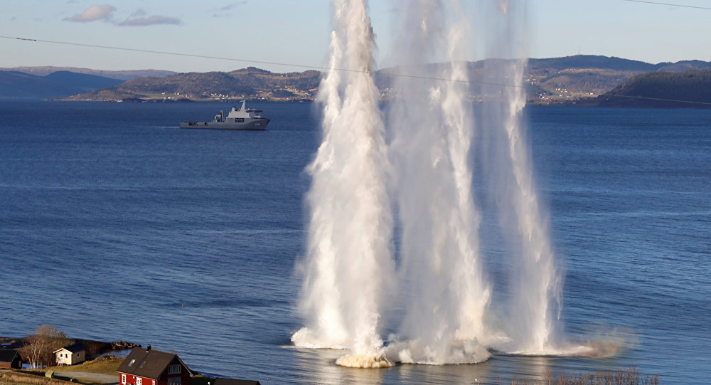 Maniobras de OTAN en Noruega