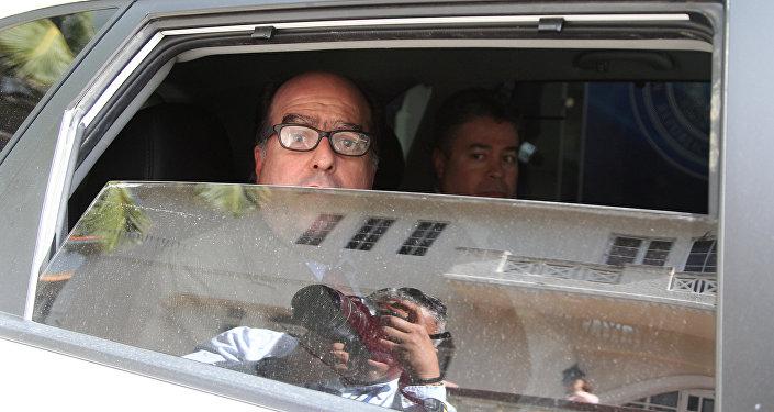 Julio Borges, político venezolano (archivo)