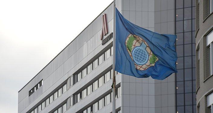 Bandera de la OPAQ