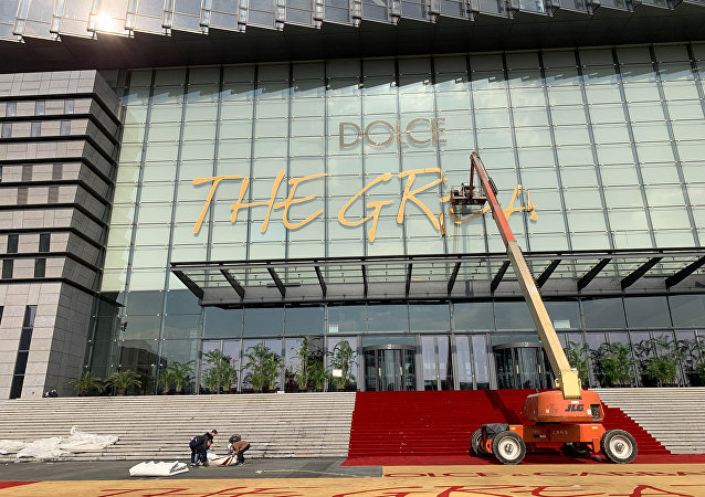 Centro comercial en Shanghái tras la cancelación del desfile de Dolce&Gabbana
