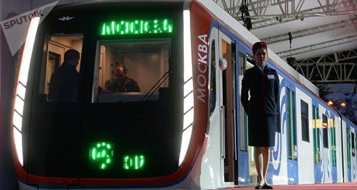 El tren Moskva (archivo)