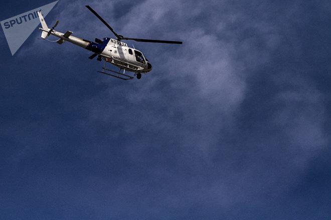 Helicóptero de la CBP con el numero N3933A sobrevuela territorio mexicano