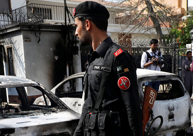 Situación tras el atentado al Consulado general de China en Karachi