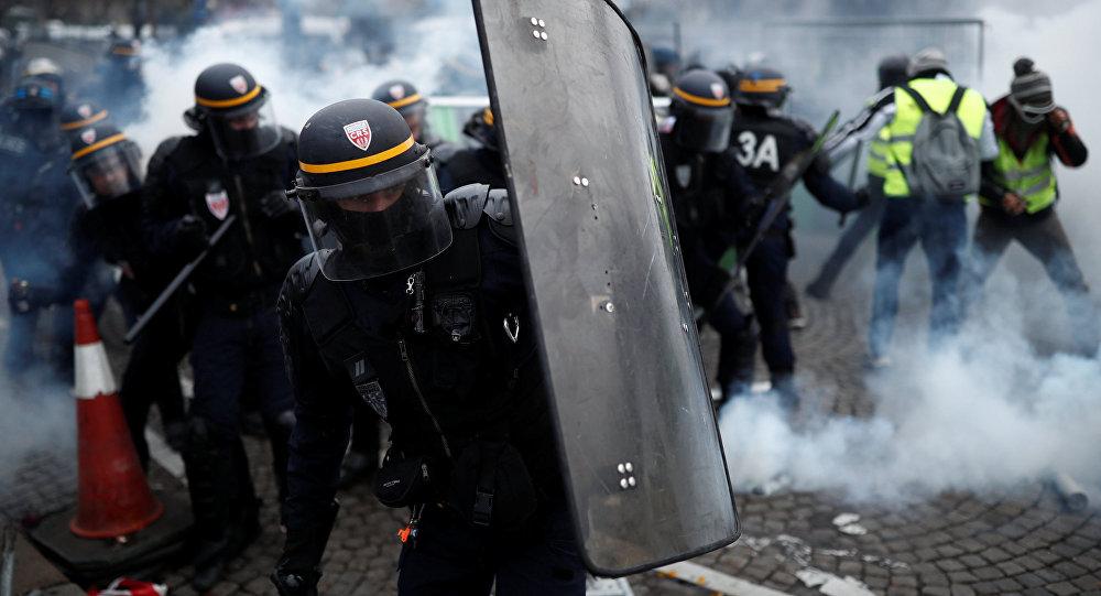 Protestas en París