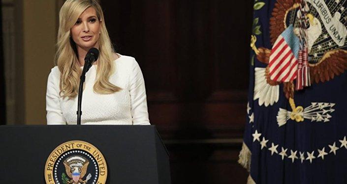 Ivanca Trump, hija y asesora del presidente Donald Trump