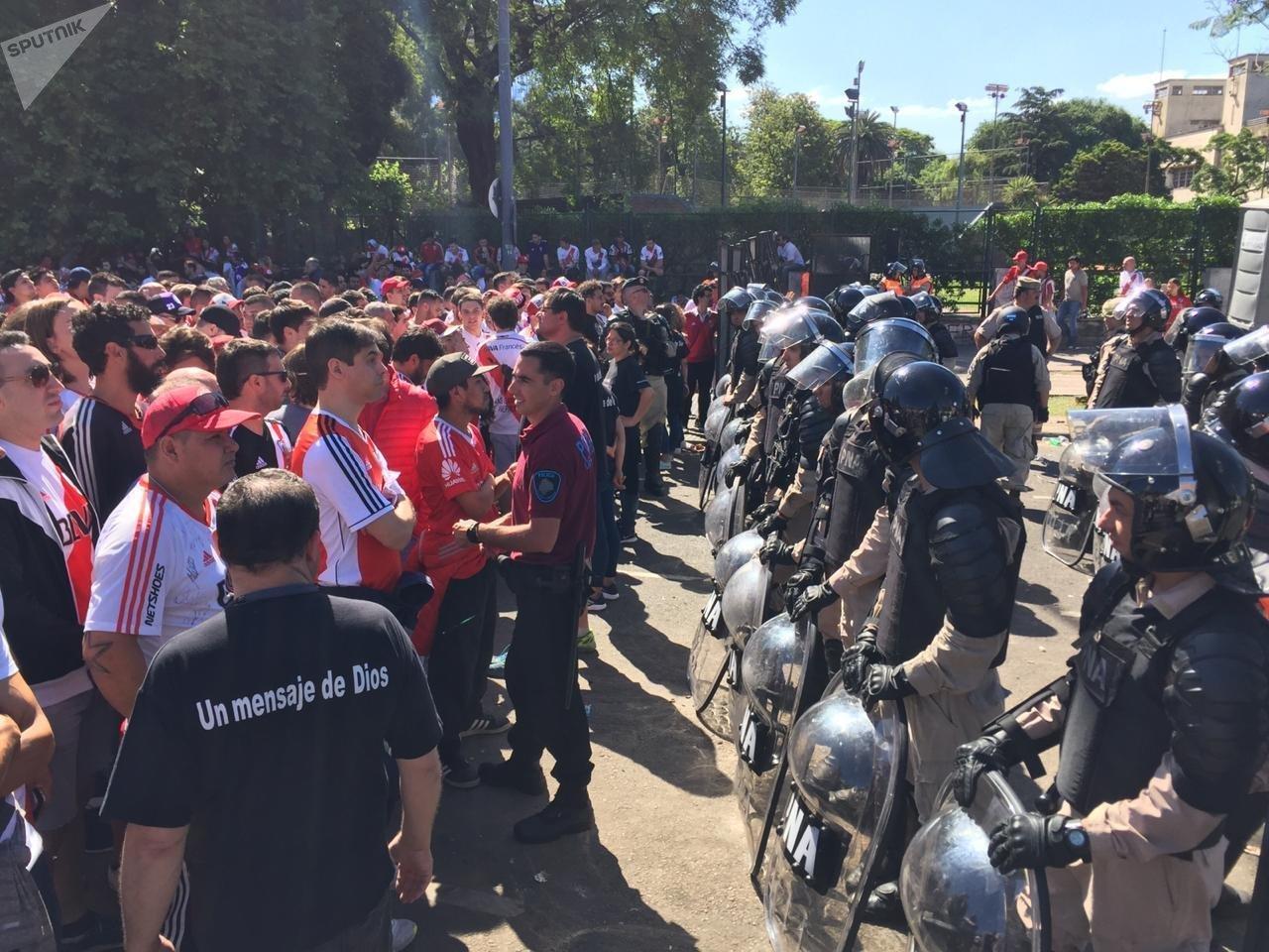 Las hinchas de River Plate ante la final de la Copa Libertadores 2018
