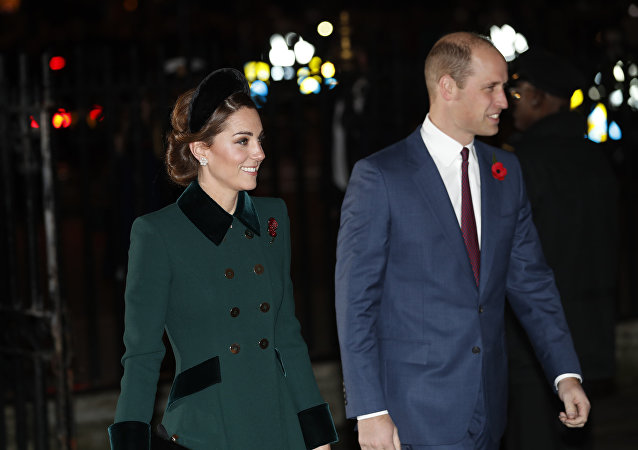 Kate Middleton, duquesa de Cambridge, y su marido, el príncipe Guillermo