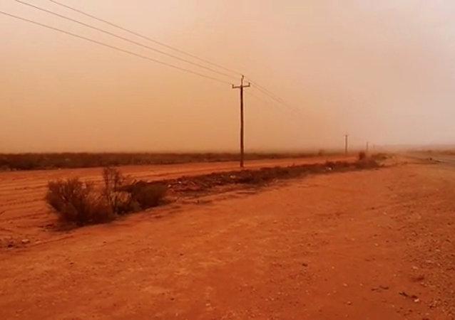 Una apocalíptica tormenta de polvo golpea el sudeste de Australia