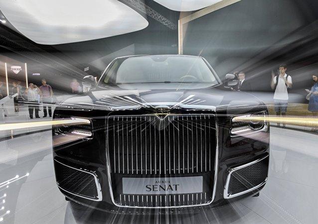 Limusina presidencial rusa Aurus Senat Limousine