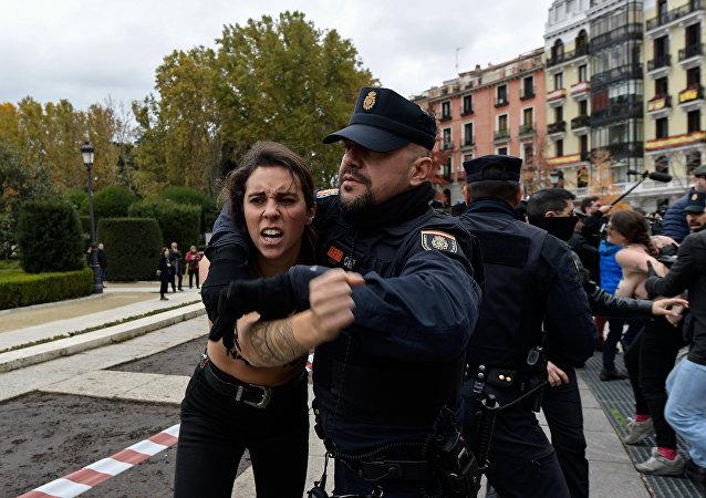 Activistas femen (artchivo)