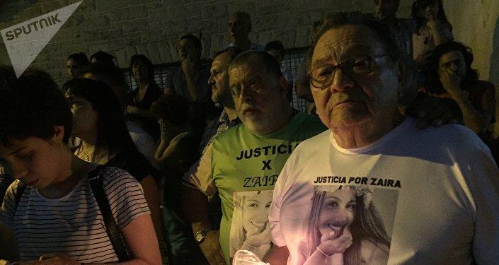 Manifestantes piden justicia por Zaira