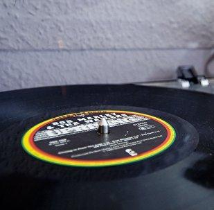 Un disco de Bob Marley