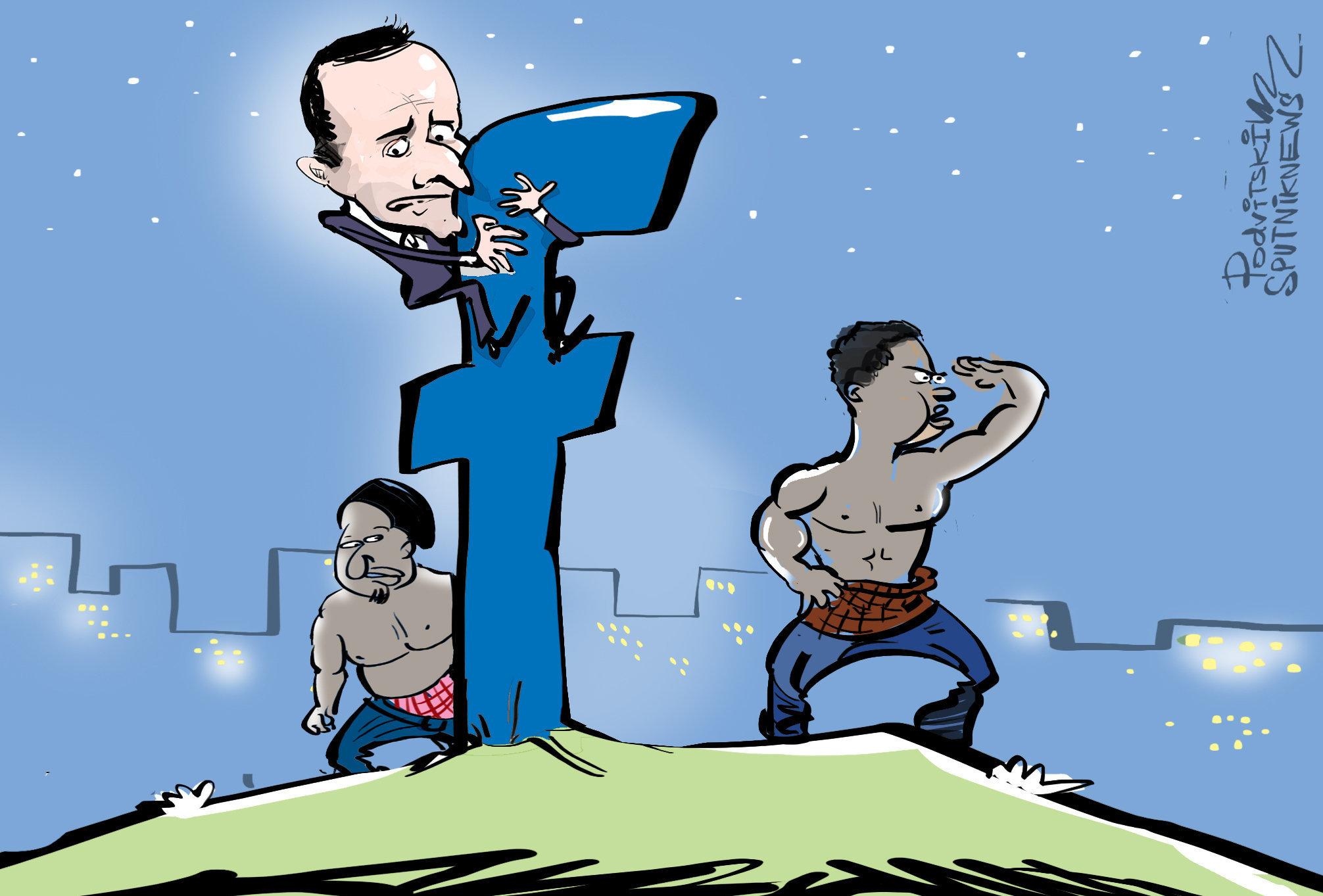 ¿Qué pasó después?: Facebook bloquea una polémica foto de Macron