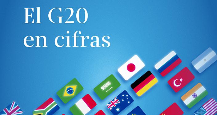 El G20, en cifras