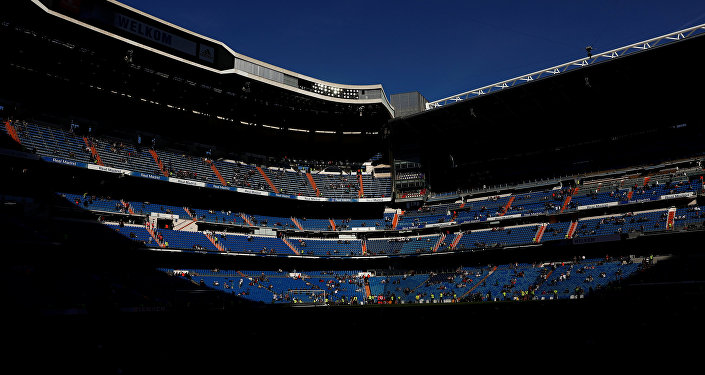 El Santiago Bernabéu, estadio del Real Madrid