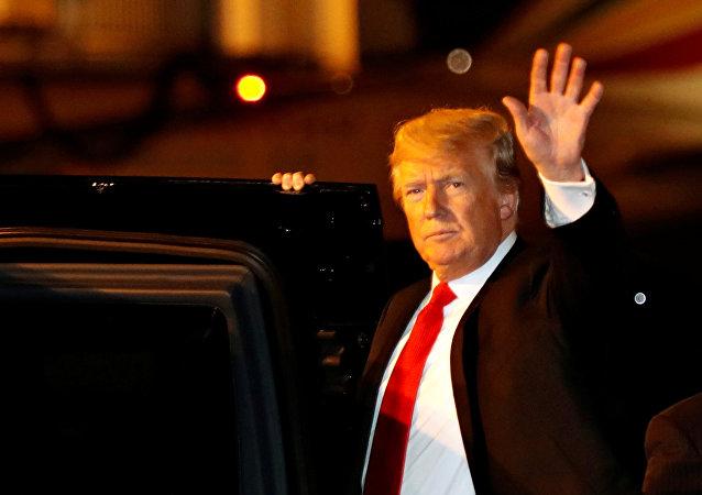 Donald Trump, presidente de EEUU, en Buenos Aires