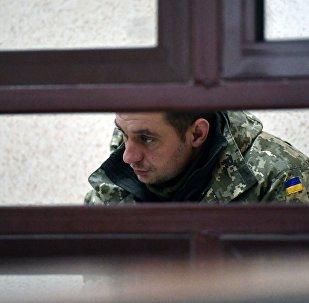 Uno de los marineros ucranianos detenidos en el estrecho de Kerch