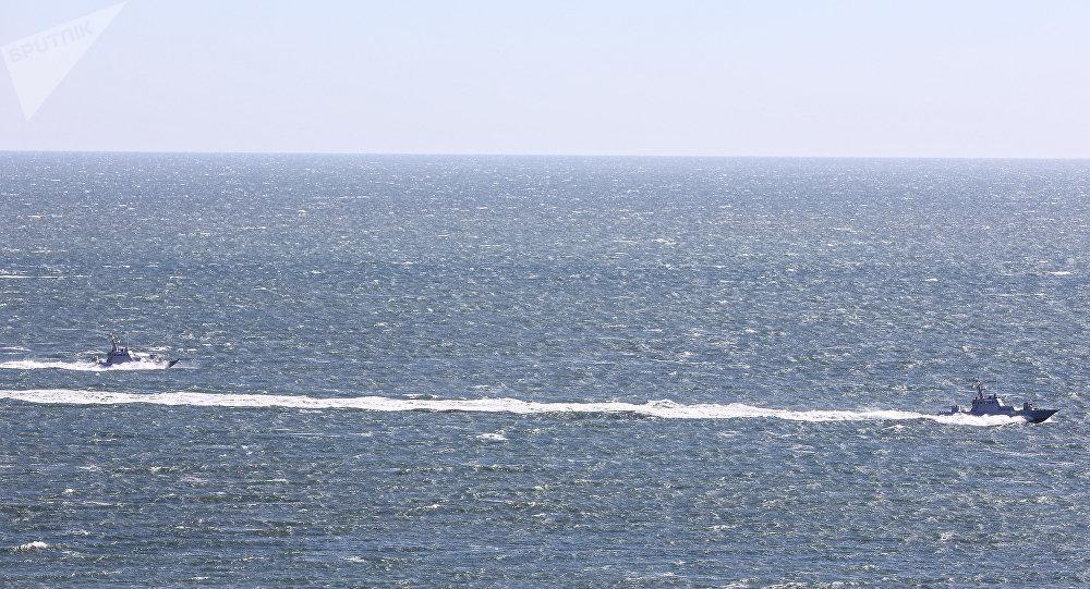 Las maniobras de Ucrania en el mar de Azov