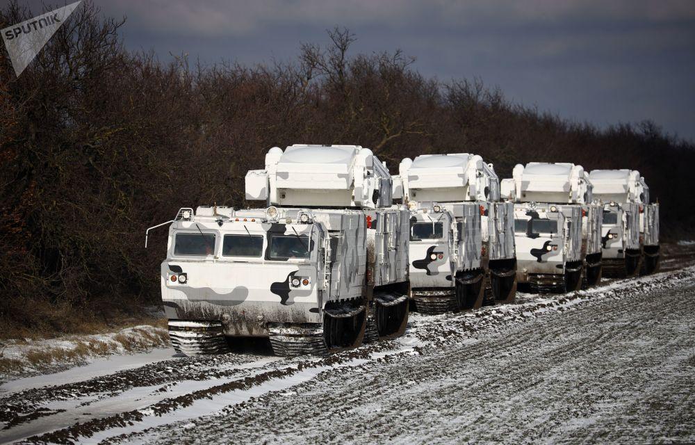 La Flota Norte de Rusia recibe sus primeros sistemas de defensa aérea Tor