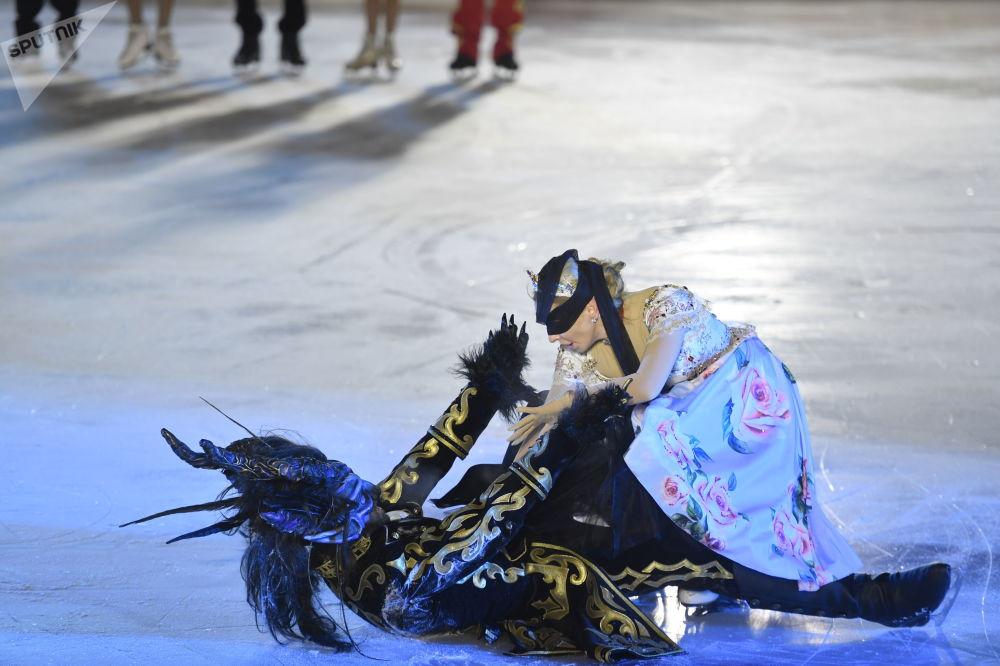 La pista de hielo más importante de Moscú abre sus puertas en la Plaza Roja