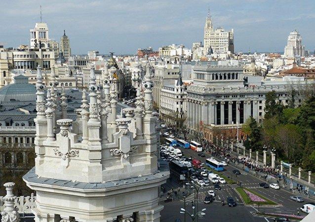 El centro de Madrid, referencial