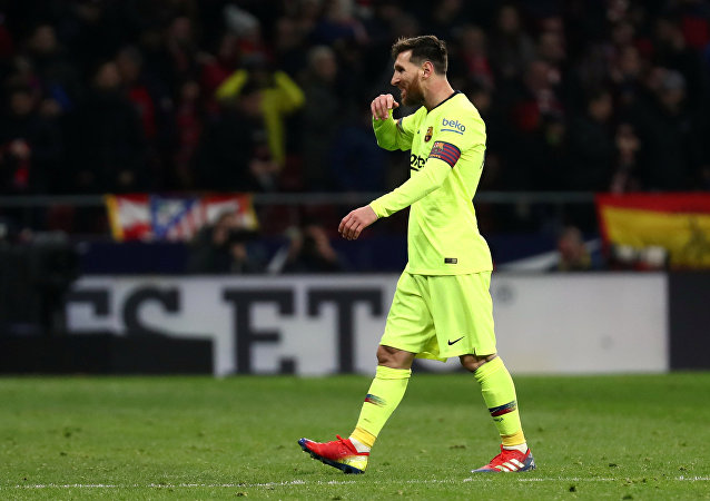 Lionel Messi, delantero argentino
