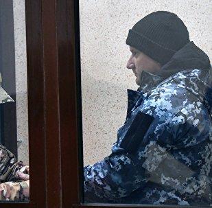 Uno de los marineros ucranianos arrestados (archivo)