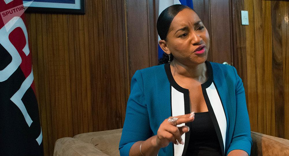 Anasha Campbell, ministra de Turismo de Nicaragua