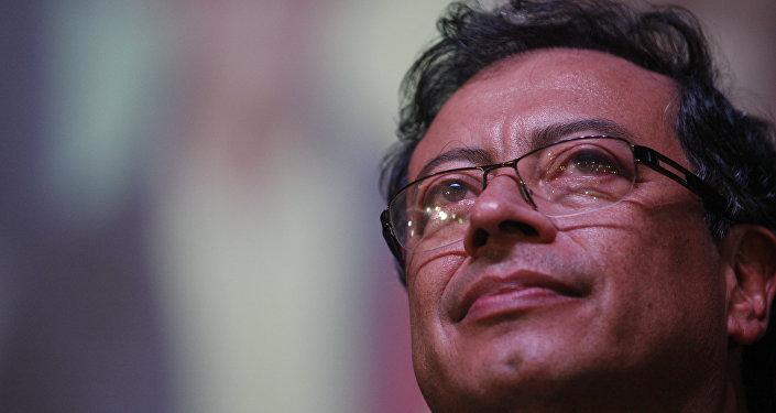 Gustavo Petro, excandidato a la presidencia de Colombia