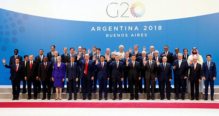 Líderes de los G20