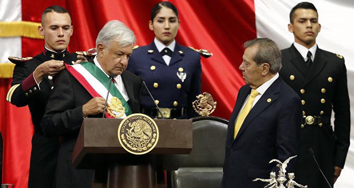 Andrés Manuel López Obrador toma posesión como presidente de México, 1 de diciembre de 2018