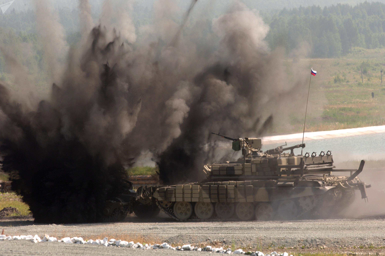 El BMR-3M durante una demostración celebrada en la Exhibición Internacional de Armas, Equipos Militares y Munición