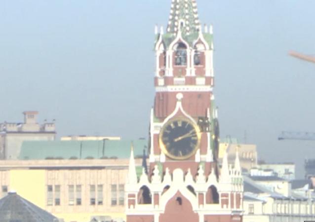 Así los agentes rusos previenen 'un ataque terrorista' en el Kremlin de Moscú
