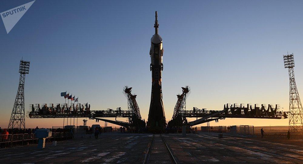 La nave espacial Soyuz MS-11