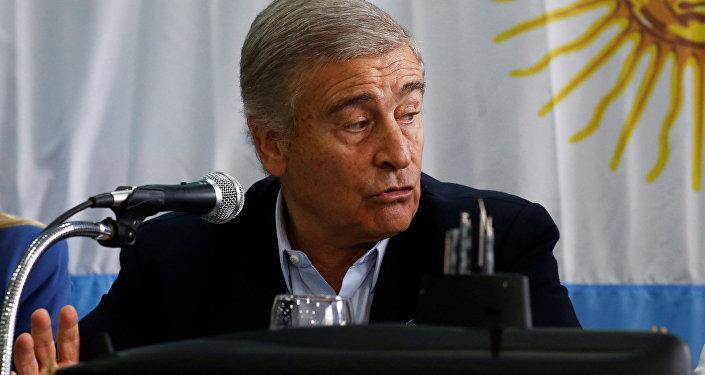 Oscar Aguad, ministro de Defensa de Argentina